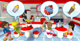 LEGO® Friends Cafe Game Image