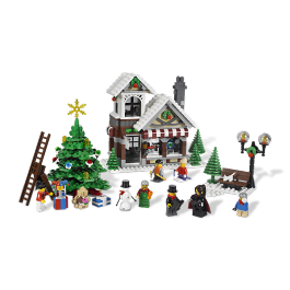 Winter Village Toy Shop