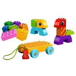Toddler Build and Pull Along