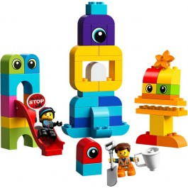 Emmet and Lucy's Visitors from the DUPLO Planet