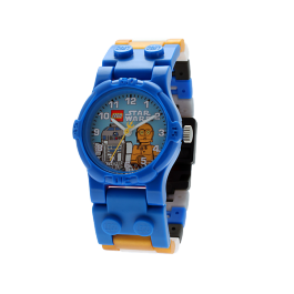 C-3PO and R2-D2 Minifigure Watch