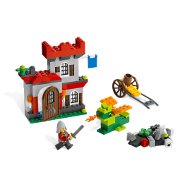 Knight and Castle Building Set