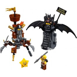 Battle-Ready Batman and MetalBeard