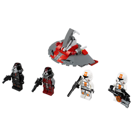 Republic Troopers vs. Sith Troopers