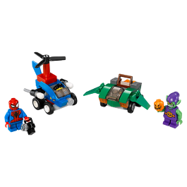Mighty Micros: Spider-Man vs. Green Goblin