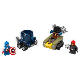 Mighty Micros: Captain America vs. Red Skull