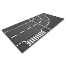 T-Junction & Curved Road Plates